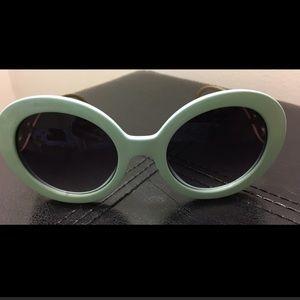 Accessories - Mint baroque sunglasses